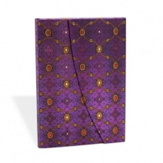 Paperblanks: Seidenpracht purpur - ultra liniert