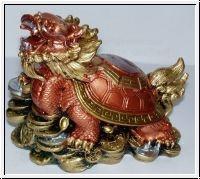 """Drachenschildkröte """"YingYang"""" bunt"""