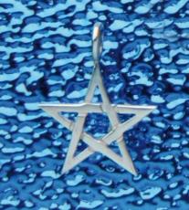 Pentagramm-Anhänger - 2 cm