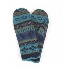 Wollhandschuhe Lia - nachtblau