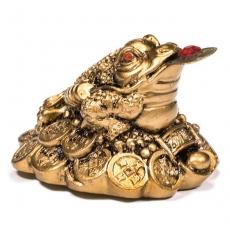 Feng Shui Frosch - goldfarben
