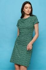 Jersey-Kleid - green