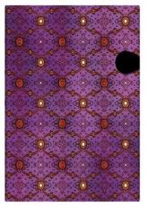 Paperblankt-Tagebuch: Seidenpracht purpur - ultra