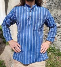 Fischer-Hemd: blau