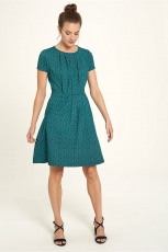 Jerseykleid kurz - art deco