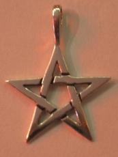 Pentagramm-Anhänger - 3 cm