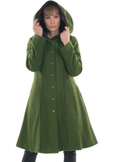 Wollmantel Marisol  - green