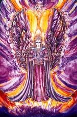 Engelkarte: Erzengel Zadkiel