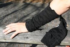 Armstulpe Urda - schwarz