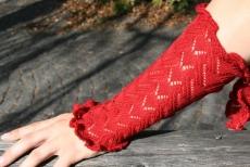 Armstulpe Missy - rot