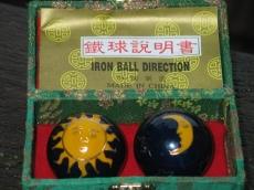 Qi Gong Kugel: Sonne und Mond