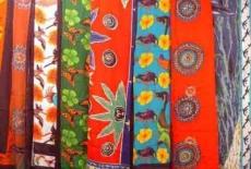 Sarong: bunte Farben
