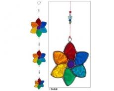 Suncatcher Kette: Blumen - 55 cm