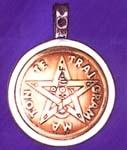 Pentagramm mit Tetragrammaton