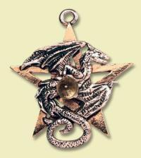Drachen-Pentagramm