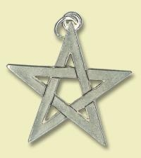 Pentagramm - offen