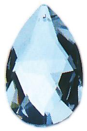 Regenbogen-Kristall: Tropfen - 38 mm