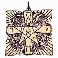 Rosenkreuz-Amulett