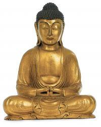 Buddha - antikgold - 31 cm