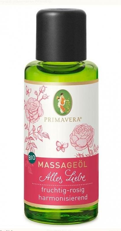 Bio-Massageöl - Alles Liebe 50 ml