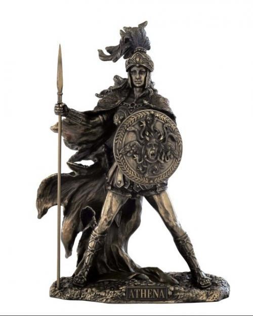 Athena - bronziert
