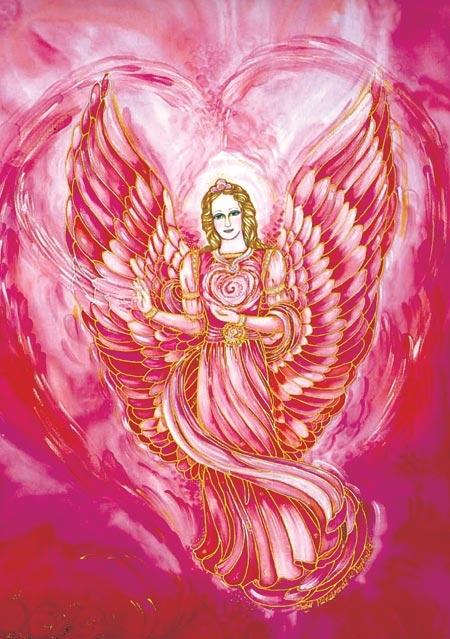 Engel-Schutzkärtchen: Engel der Liebe