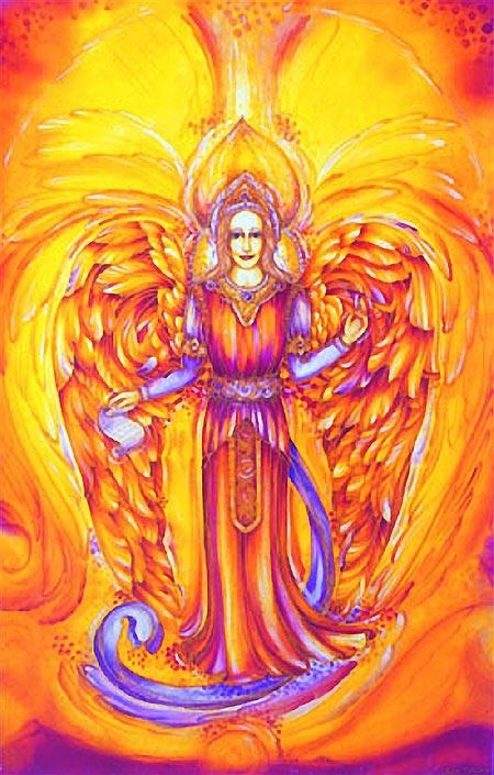 Engel-Schutzkärtchen:: Erzengel Jophiel