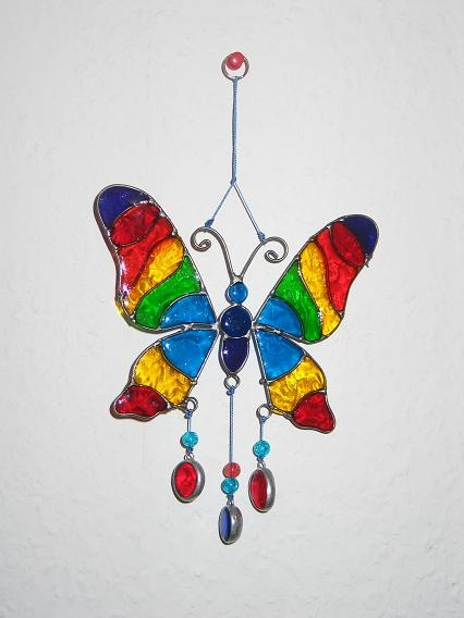 Sun Catcher: Schmetterling