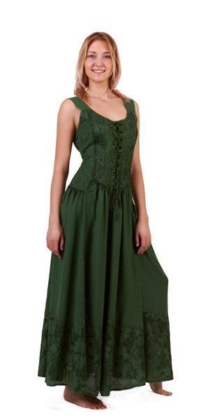 Kleid geschnürt: Gr. S/M und L/XL