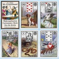 Piatnik: Lenormand Wahrsagekarten - 36 Karten