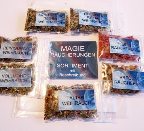 Magische Räucherungen - Set