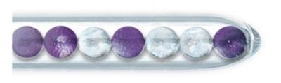 Vitalstick Kristall-Klar-Mischung (Amethyst, Bergkristall)