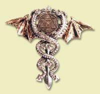 Heiliges Drachenamulett