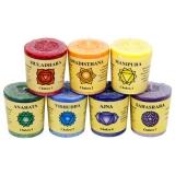 7 Chakra Duft-Kerzen - Geschenkset
