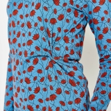 Jerseykleid hellblau Gr. M