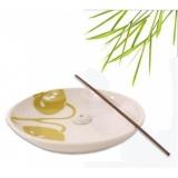 Räucherstäbchenhalter Keramik: Teesamen Motiv