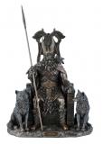 Odin/Wotan - bronziert