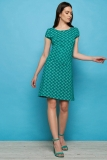 Jersey-Kleid NAHILA - green ball