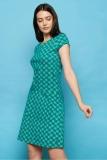 Jersey-Kleid NAHILA - green ball