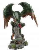 Drache Green Wings - 31 cm