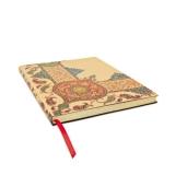Paperblank: Paisley auf Elfenbein - Flexibuch - liniert