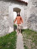 Fischer-Hemd: orange