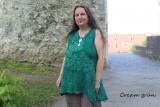 Top Halus - cream grün