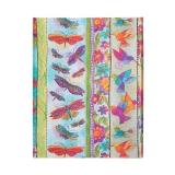 Paperblankt-Tagebuch: Kolibri und Schmetterlinge - Midi