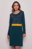 Jerseykleid Aleksa - blau