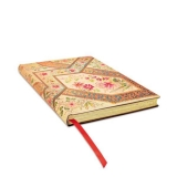 Paperblankt-Tagebuch: Bukett auf Elfenbein - Flexibuch - ultra