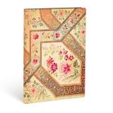 Paperblankt-Tagebuch: Bukett auf Elfenbein - Flexibuch - midi, 176 S.