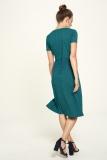 Jersey Kleid - art deco