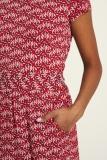Jersey-Kleid - kurz thistle