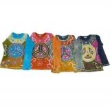 Buntes Shirt mit Peace